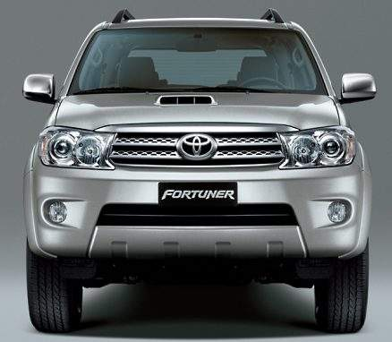 toyota fortuner facelift