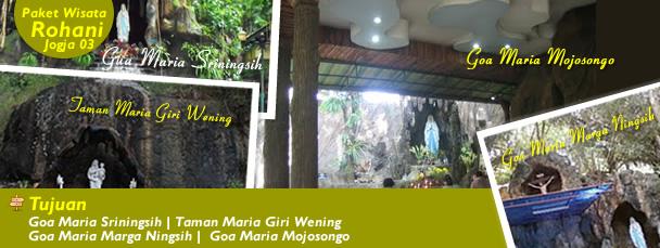 Goa Maria Sriningsih | Taman Maria Giri Wening | Goa Maria Marga Ningsih | Goa Maria Mojosongo
