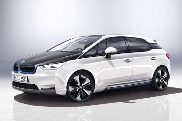 BMW i5 rental mobil yogyakarta