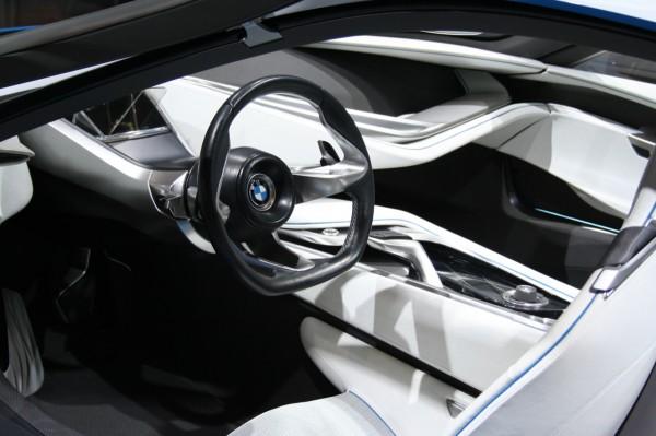 BMW i8 interior design rental mobil yogyakarta