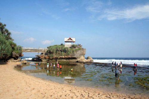 Pantai Kukup sewa mobil yogyakarta