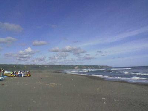 Pantai Samas rental mobil jogja