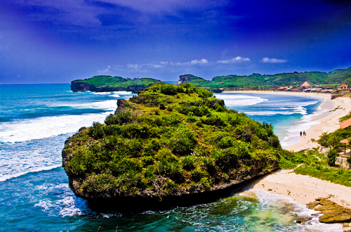 pantai krakal wisata yogyakarta