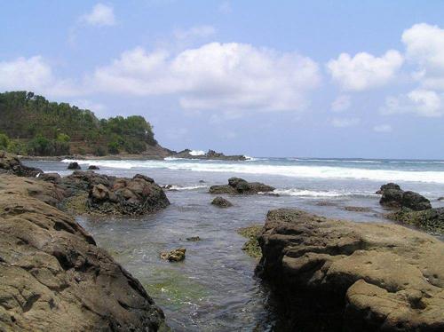 peta pantai wediombo paket wisata jogja