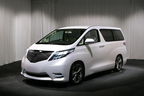 Toyota New Alphard 2012