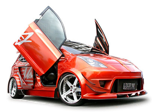 honda jazz modifikasi rental mobil yogyakarta