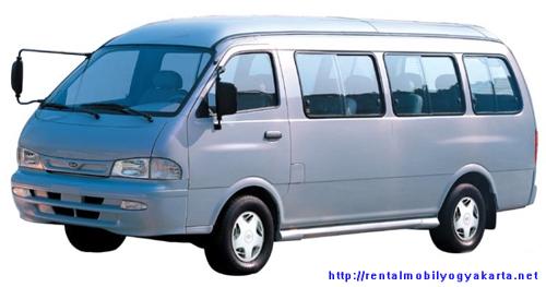 KIA Pregio rental mobil yogyakarta