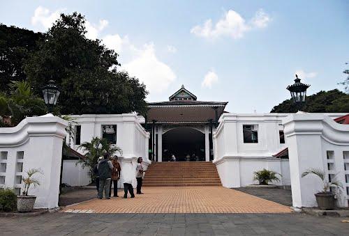 siti Hinggil Pagelaran Yogyakarta