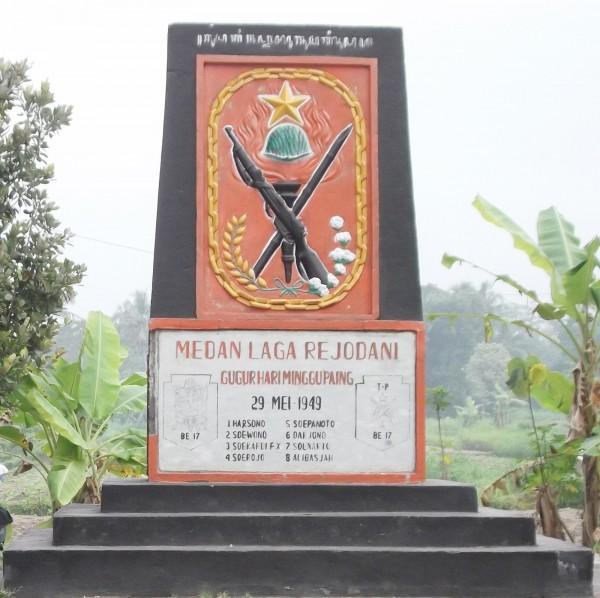 Monumen Tentara Pelajar Palangan