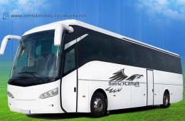 Sewa Bus Pariwisata Jogja : Rental Bis Rp 75Rb