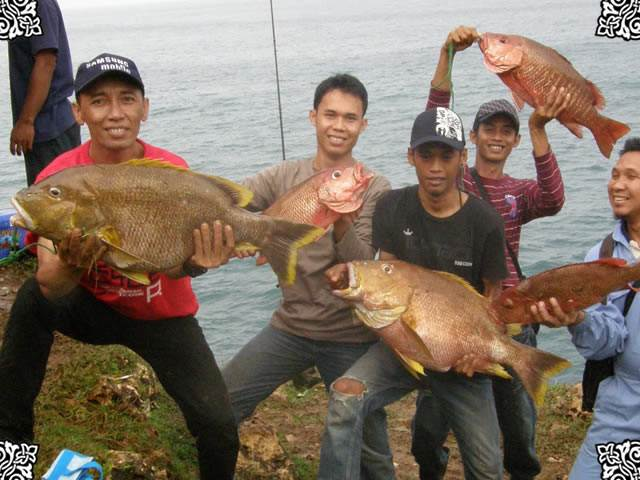 ikan dipantai Boto Rubuh
