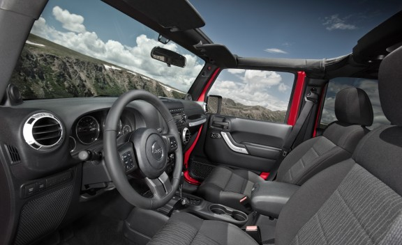 Interior Jeep Wrangler Rubicon