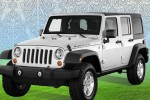 Jeep Wrangler Rubicon tampak gagah
