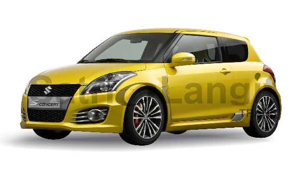 Sewa Suzuki Swift 2014