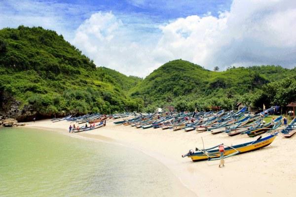 Pantai Di Wonosari Gunungkidul, Pantai Eksotis Di Gunung Kidul, Pantai Gunung Kidul,