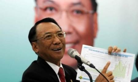 Menteri Energi dan Sumber Daya Mineral Jero Wacik