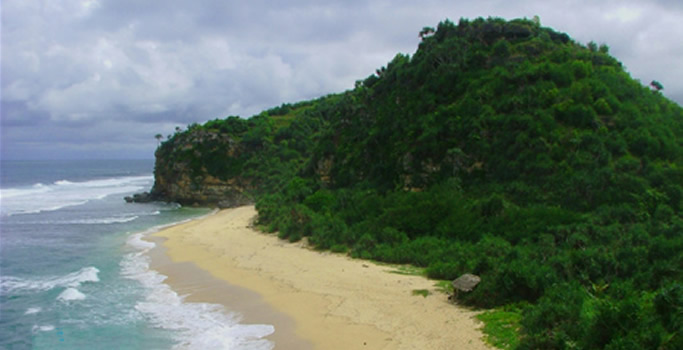 Pantai Sanglen Gunung kidul Jogja