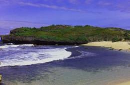 Pantai Sarangan Gunung Kidul