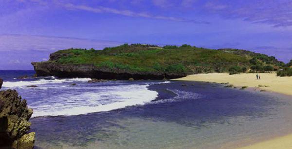 Pantai Sarangan Gunung Kidul Jogja