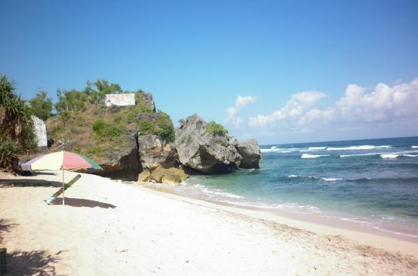 pasir pantai somandeng