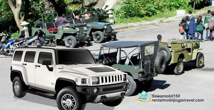 Sewa Jeep Hummer Yogyakarta