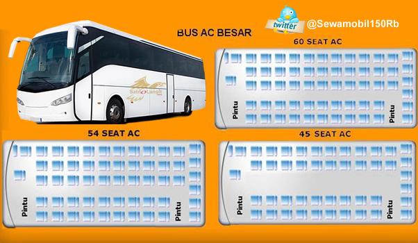 Daftar Tarif Bus Pariwisata Jogja