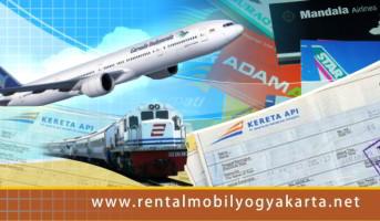 Jadwal Kereta Api dan Pesawat