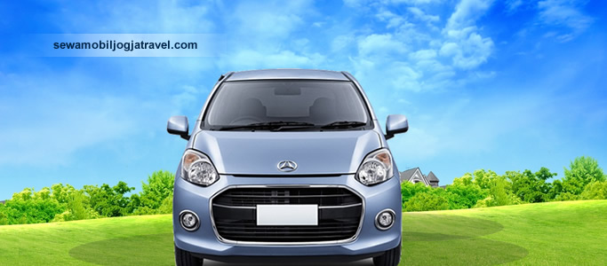 Rental Mobil Ayla Jogja Bumper Depan