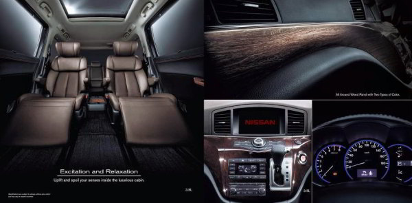 Interior Elgrand Nissan Indonesia