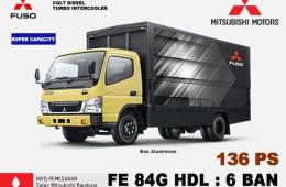 Mengenal Truk Colt Diesel FE 84G HDL